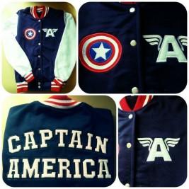 Beisbolera Capitán América